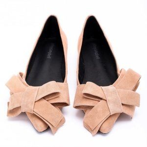 New Jeffrey Campbell Ruston Ballet Flat in Camel
